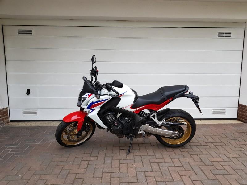 Kraftrad Honda CBF 650